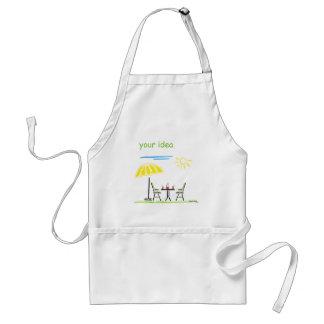 in the garden standard apron