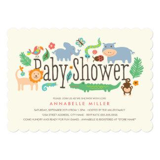 In the Jungle Baby Shower Invite