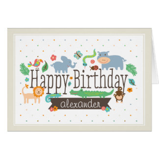 Birthday greeting cards from Zazzle