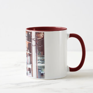 In the Library Mug