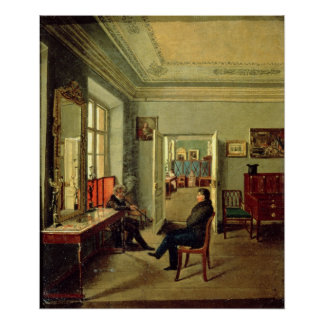 In the Room, 1834 Print