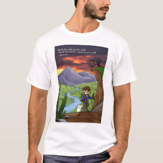 In the Wilderness Shirt (double-side, light)