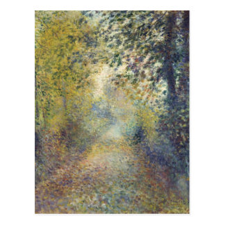 In the Woods by Pierre-Auguste Renoir Postcard