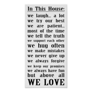 In This House... Poster