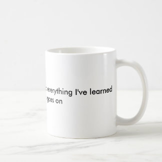In three words I can sum up everything Coffee Mug