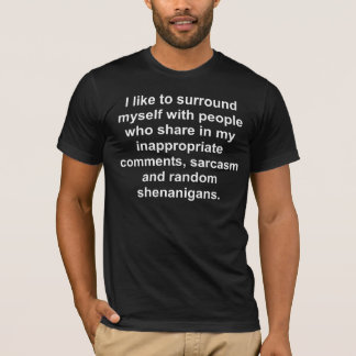 Inappropriate comments funny t-shirt