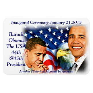 Inauguration2013,Barack Obama_Premium Flexi Magnet