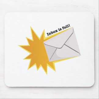 Inbox Is Full! Mouse Pad