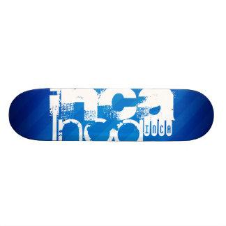 Inca; Royal Blue Stripes Skateboards