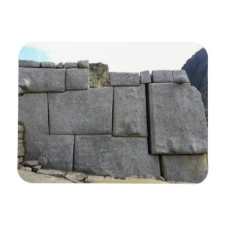 Inca Wall at Machu Picchu Magnetn Magnet