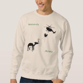 Incaptive: Nature's Army design Sweatshirt