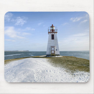 Inch Arran Lighthouse | New Brunswick Mouse Pad