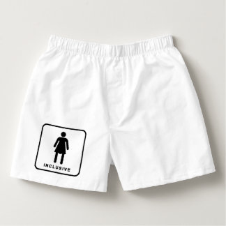inclusive restroom sign boxers