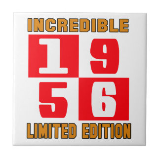 Incredible 1956 limited edition small square tile