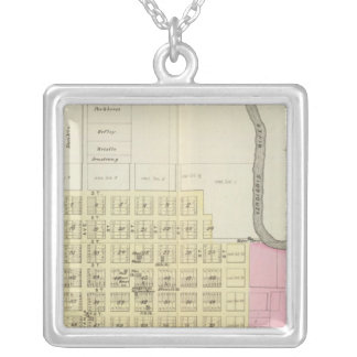 Independence, Coffeyville and Havana, Kansas Silver Plated Necklace