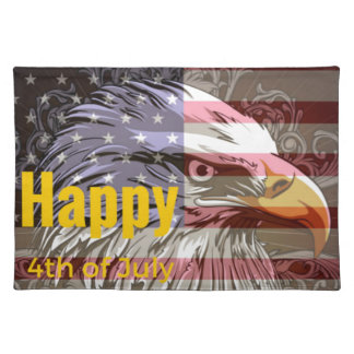 Independence Day - Happy 4th (fourth) July Placemat