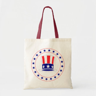 Independence Day Uncle Sam's Hat Tote Bag