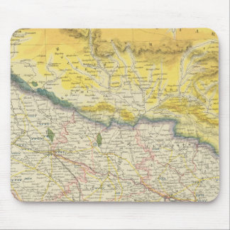 India and Nepal Mouse Pad