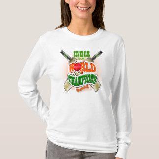 India Cricket World Champions 2011 Ladies Hoodie