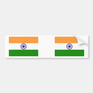 India Flag Bumper Sticker