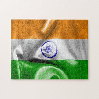 India Flag Jigsaw Puzzle