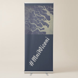 India Ganges River ~ #MniWiconi Retractable Banner