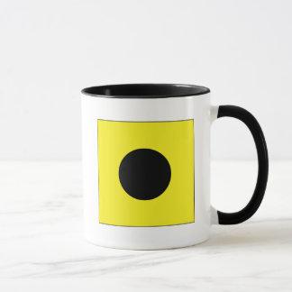India (I) Signal Flag Mug