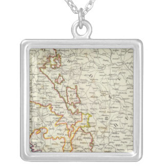 India III Bombay Presidency Silver Plated Necklace