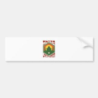 India Land Of Wonder Bumper Sticker