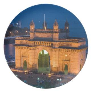 INDIA, Mumbai (Bombay): Gateway of India / Party Plate