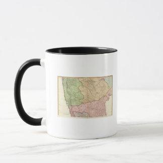 India peninsula North Mug