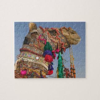 INDIA, Rajasthan, Pushkar: PUSHKAR CAMEL FAIR, Jigsaw Puzzle