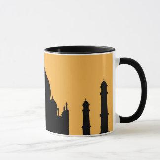 India: Taj Mahal Silhouette Mug
