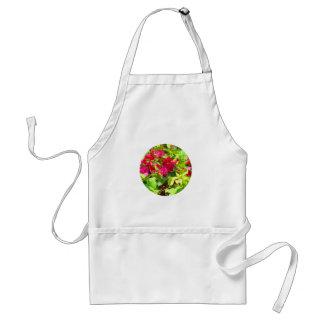 India travel flower bougainvillea floral emblem standard apron