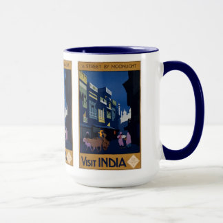 India Travel Poster mugs – choose style