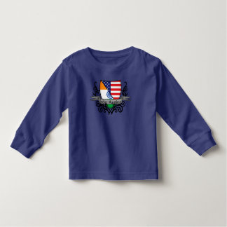 Indian-American Shield Flag Toddler T-Shirt