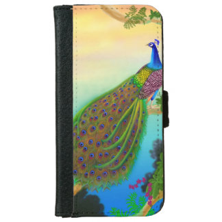Indian Blue Peacock in Tree Samsung Galaxy Case