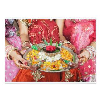 indian bridal shower games card