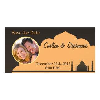 Indian Dream Wedding Photo Announcement Custom Photo Card