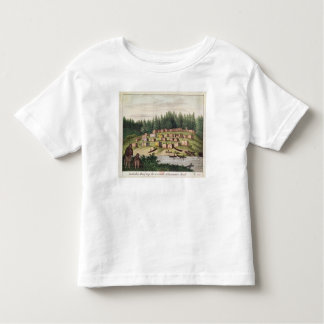Indian Encampment on Quadra Island Toddler T-Shirt