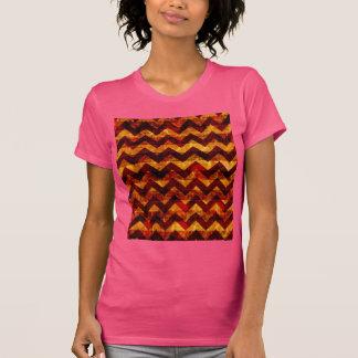 Indian Grunge Chevron Tee Shirt