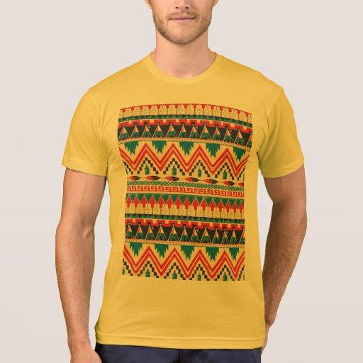 indian pattern tshirt