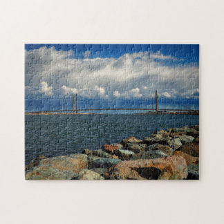 Indian River Bridge Jigsaw Puzzle