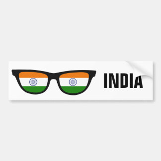 Indian Shades custom text & color bumpersticker Bumper Sticker