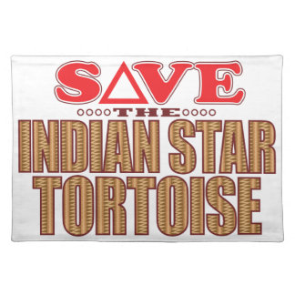 Indian Star Tortoise Save Placemat