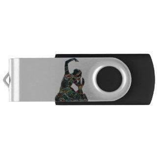 Indian Universe Swivel USB 2.0 Flash Drive