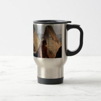 indian village and brave travel mug