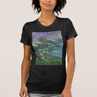 Indian village during the summer tee shirts