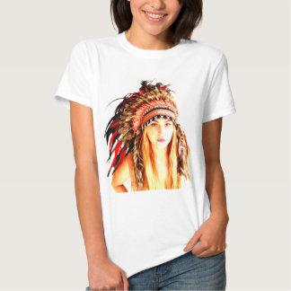Indian warrior tshirt
