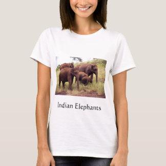 Indian wild elephants T-Shirt